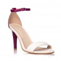 Sandale dama piele mov Carla S5 - Orice culoare