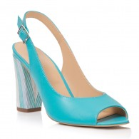Sandale Piele Turcoaz Callia T6 - orice culoare