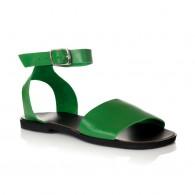 Sandale dama piele verde Mary- orice culoare