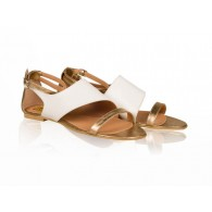 Sandale dama talpa joasa N2- Piele naturala