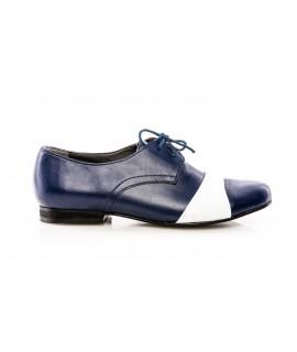Pantofi Oxford 8 piele bleumarin - orice culoare