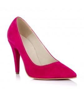 Pantofi Stiletto Piele Fuchsia L28 - orice culoare