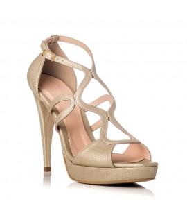 Sandale Dama Piele Auriu Gloria F24 - orice culoare