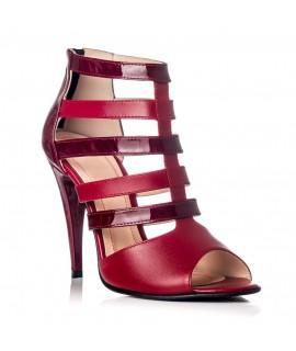 Sandale dama piele lacuita Style F2 - Orice culoare