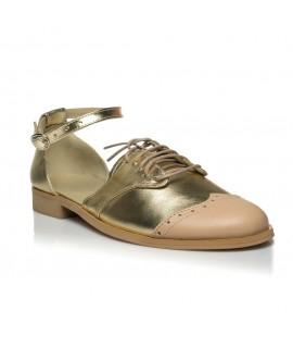 Pantofi Talpa Joasa Style I3 Auriu - orice culoare