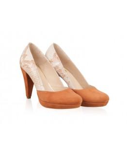 Pantofi Piele naturala N12 - orice culoare