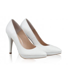 Pantofi Piele Stiletto Platforma Bride N24 - orice culoare