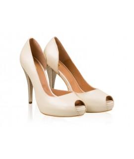 Pantofi mireasa N14 Golden - orice culoare