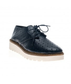 Pantofi piele perforata negru Oxford V6 - orice culoare