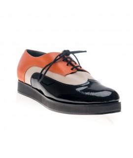 Pantofi piele Oxford Duet Combi V20 - orice culoare