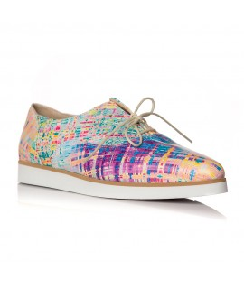 Pantofi piele Oxford Varf Ascutit Color C1  - orice culoare