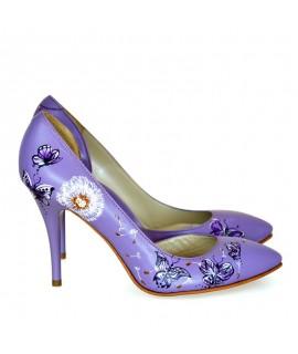 Pantofi Dama D35 Piele Naturala - orice culoare