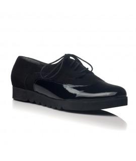 Pantofi piele Oxford  Duet Negru V20 - orice culoare