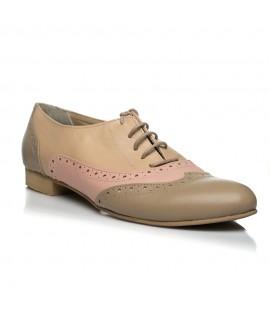 Pantofi Oxford piele naturala I5, disponibili pe orice culoare