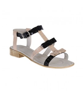 Sandale piele naturala lacuita Fundite,disponibile pe orice culoare-