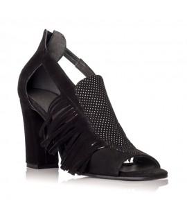 Sandale dama piele cu franjuri Vendetta - Orice culoare