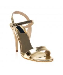 Sandale dama piele auriu Clarice V20 - Orice culoare