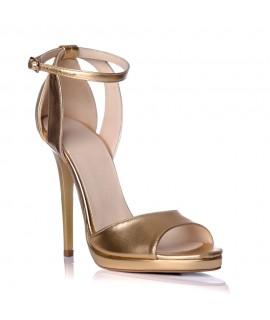 Sandale dama piele auriu Lola S2 - Orice culoare