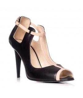 Sandale dama piele tip gheata Negru S3 - Orice culoare