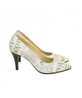 Pantofi Dama D102 Piele Naturala - orice culoare