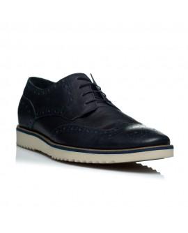 Pantofi piele barbati Golf Sneakers negru